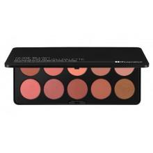 BH Cosmetics Nude Blush Palette paleta 10 róży do policzków