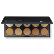 BH-Cosmetics-Foundation-&-Concealer-Palette-Light/Medium-paleta-10-podkładów-kryjących-drogeria-internetowa