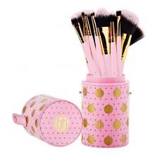 Bh-Cosmetics-Dot-Collection-Brush-Set-Pink-zestaw-11-pędzli-do-makijażu-pędzle-do-makijażu-drogeria-internetowa