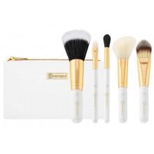 Bh-Cosmetics-Bright-White-Brush-Set-zestaw-6-pędzli-do-makijażu-w-kosmetyczce-pędzle-do-makijażu-drogeria-internetowa-puderek.co