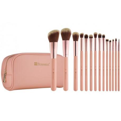 Bh-Cosmetics-Bh-Chic-Brush-Set-zestaw-14-pędzli-do-makijażu-w-kosmetyczce-pędzle-do-makijażu-drogeria-internetowa-puderek.com.pl