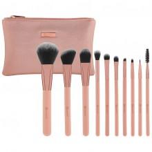 Bh-Cosmetics-Pretty-in-Pink-Brush-Set-zestaw-14-pędzli-do-makijażu-w-kosmetyczce-pędzle-do-makijażu-drogeria-internetowa-puderek