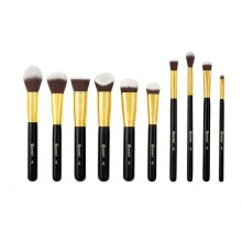 BH Cosmetics Sculpt and Blend 3 Brush Set zestaw 10 pędzli do makijażu