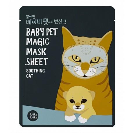 Holika-Holika-Baby-Pet-Magic-Mask-Sheet-Cat-maska-w-płacie-koreańskie-kosmetyki-drogeria-internetowa-puderek.com.pl