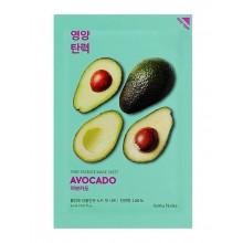 Holika-Holika-Pure-Essence-Mask-Sheet-Avocado-maska-w-płacie-koreańskie-kosmetyki-drogeria-internetowa-puderek.com.pl