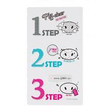 Holika-Holika-Pignose-Clear-Blackhead-3-step-Kit-No-water-zestaw-do-oczyszczania-nosa-koreańskie-kosmetyki-drogeria-internetowa-