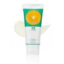 Holika-Holika-Daily-Fresh-Cleansing-Foam-Citron-pianka-oczyszczająca-150-ml-koreańskie-kosmetyki-drogeria-internetowa-puderek-co