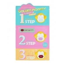 Holika-Holika-Golden-Monkey-Glamour-Lip-3-Step-Kit-zabieg-na-usta-koreańskie-kosmetyki-drogeria-internetowa-puderek-com-pl