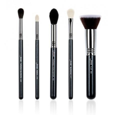 Jessup-T125-Pro-Brushes-Set-zestaw-5-pędzli-do-makijażu-drogeria-internetowa-pędzle-do-makijażu-puderek.com.pl