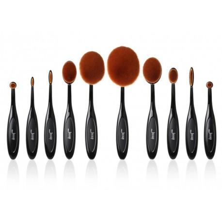 Jessup-T117-Blend-Oval-Brush-Set-zestaw-10-pędzli-do-makijażu-drogeria-internetowa-pędzle-do-makijażu-puderek.com.pl