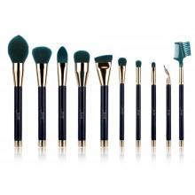 Jessup-T252-zestaw-10-pędzli-do-makijażu-Blue-Darkgreen-drogeria-internetowa-puderek.com.pl