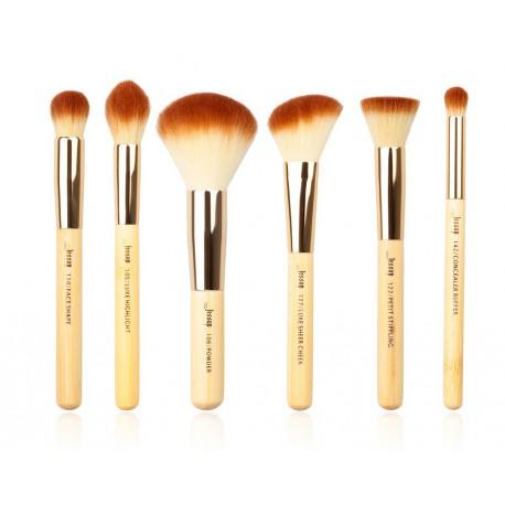 Jessup-T144-Bamboo-Brushes-Set-zestaw-6-pędzli-do-makijażu-twarzy-pędzle-do-makijażu-drogeria-internetowa-puderek.com.pl