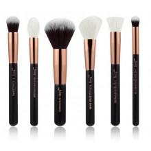 Jessup-T164-Brushes-Set-Black-Rose-Gold-zestaw-6-pędzli-do-makijażu-twarzy-drogeria-internetowa-pędzle-do-makijażu-puderek.com.p