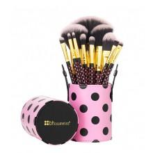 BH-Cosmetics-Pink-a-Dot-brush-set-zestaw-11-pędzli-pędzle-do-makijażu-drogeria-internetowa-puderek.com.pl
