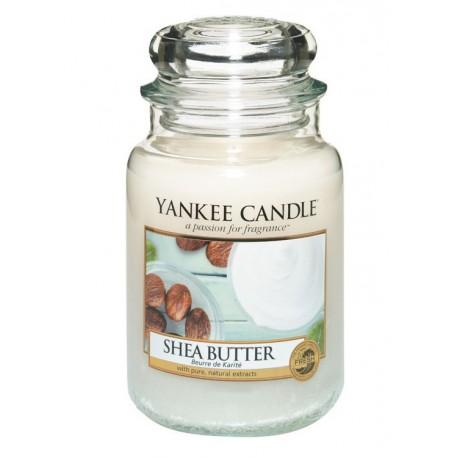 Yankee Candle Shea Butter słoik duży świeca zapachowa