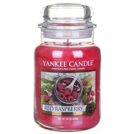Yankee Candle Red Raspberry słoik duży świeca zapachowa