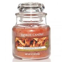 Yankee-Candle-Cinnamon-Stick-słoik-mały-świeca-zapachowa-drogeria-internetowa-puderek.com.pl