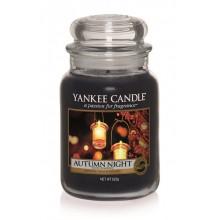 Yankee-Candle-Autumn-Night-słoik-duży-świeca-zapachowa-drogeria-internetowa-puderek.com.pl