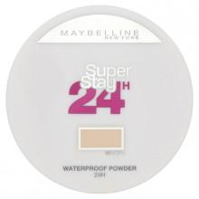 Maybelline Superstay Waterproof Powder 24h wodoodporny puder 10 Ivory
