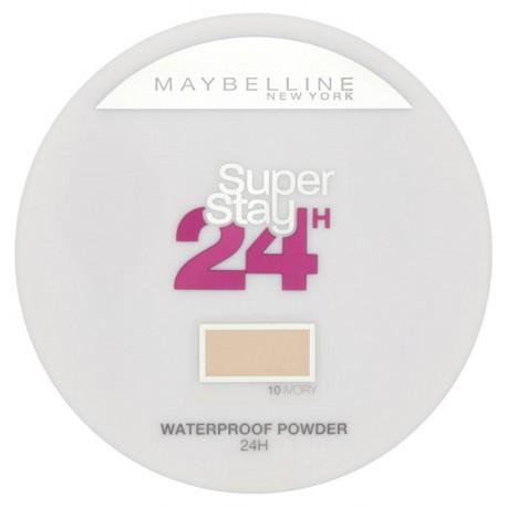 Maybelline-Superstay-24H-Waterproof-Powder-długotrwały-puder-matujący-10-Ivory-drogeria-internetowa-puderek.com.pl
