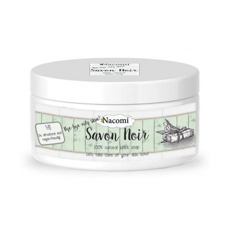 Nacomi-czarne-mydło-100%-naturalne-240-g-drogeria-internetowa-puderek.com.pl