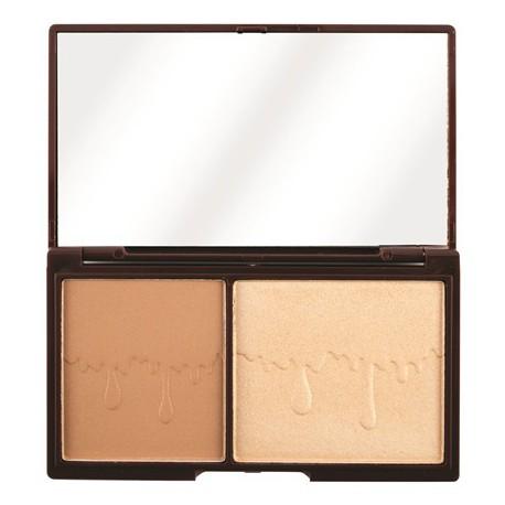 Makeup Revolution I Heart Chocolate Bronze and Glow paleta do konturowania