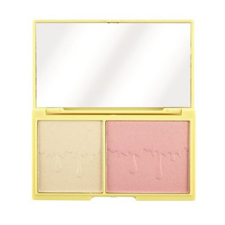 Makeup-Revolution-I-Heart -Chocolate-Light-and-Glow-paleta-do-konturowania-konturowanie-twarzy-drogeria-internetowa-puderek.com.