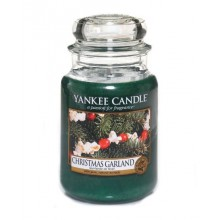 Yankee Candle Christmas Garland słoik duży świeca zapachowa