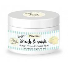 Nacomi-Scrub-&-Wash-pianka-peelingująco-myjąca-Kokos-i-Banan-180-ml-drogeria-internetowa