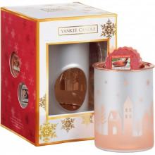 Yankee Candle The Perfect Christmas Gift Set kominek + zestaw 4 wosków zapachowych