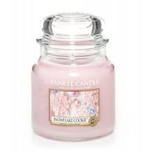 Yankee-Candle-Snowflake-Cookie-słoik-średni-świeca-zapachowa-drogeria-internetowa