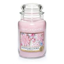 Yankee-Candle-Snowflake-Cookie-słoik-duży-świeca-zapachowa-drogeria-internetowa-puderek.com.pl