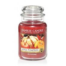 Yankee Candle Apple Pumpkin słoik duży świeca zapachowa