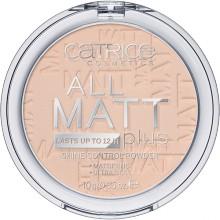 Catrice All Matt Plus długotrwały puder matujący 010 Transparent