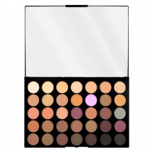 Makeup Revolution Pro HD Palette Amplified 35 - Neutrals Cool - paleta cieni do powiek