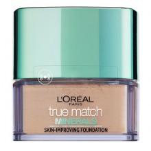 Loreal True Match Minerals Skin Improving Foundation 1.D/1.W Golden Ivory podkład mineralny