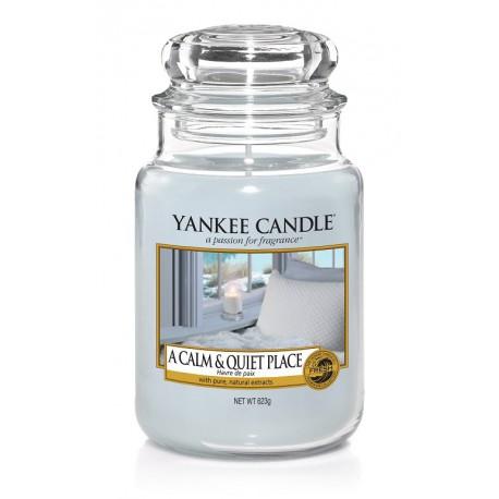 Yankee Candle A Calm & Quiet Place słoik duży świeca zapachowa