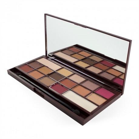 Makeup Revolution Chocolate Elixir paleta cieni do powiek