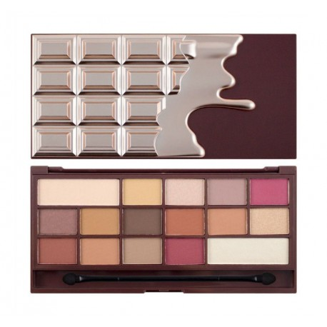 Makeup-Revolution-Chocolate-Elixir-paleta-cieni-cienie-do-powiek-drogeria-internetowa-puderek.com.pl