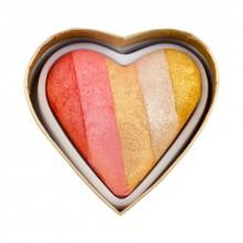 Makeup-Revolution-Dragon's-Heart-wypiekany-rozświetlacz-serduszko-drogeria-internetowa-puderek.com.pl