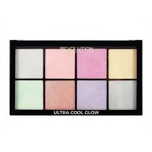Makeup-Revolution-Ultra-Cool-Glow-paleta-rozświetlaczy-drogeria-internetowa-puderek.com.pl