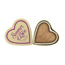 Makeup Revolution Summer of Love Triple Baked Bronzer wypiekany bronzer