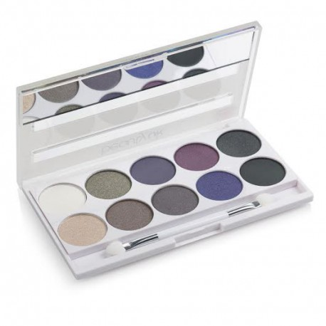 Beauty UK Posh Palette Galaxy paleta 10 cieni do powiek