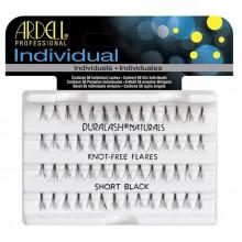 Ardell kępki sztucznych rzęs Short Individual Natural Black bez węzełków