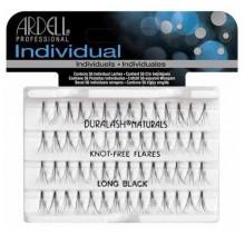 Ardell Individuals kępki sztucznych rzęs Long Black bez węzełków