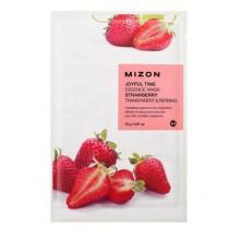Mizon-Joyful-Time-Essence-Mask-Strawberry-maska-w-płacie-oczyszczanie-23-g-drogeria-internetowa-puderek.com.pl