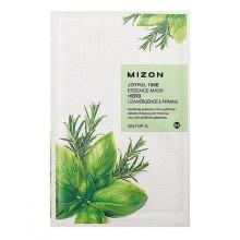 Mizon-Joyful-Time-Essence-Mask-Herb-maska-w-płacie-ściągnięcie-porów-i-ujędrnienie-23 -g-drogeria-internetowa-puderek.com.pl