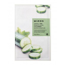Mizon-Joyful-Time-Essence-Mask-Cucumber-maska-w-płacie-nawilżenie-i-blask-23-g-drogeria-internetowa-puderek.com.pl