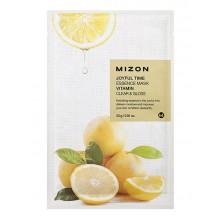 Mizon-Joyful-Time-Essence-Mask-Vitamin-maska-w-płacie-oczyszczanie-i-rozświetlenie-23-g-drogeria-internetowa-puderek.com.pl