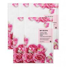 Mizon-Joyful-Time-Essence-Mask-Rose-5-maska-w-płacie-nawilenie-i-zwężenie-porów-23-g-drogeria-internetowa-puderek.com.pl